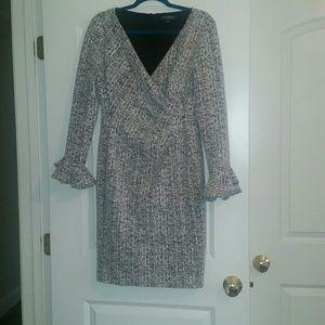 Ralph Lauren tweed dress. Size 12.